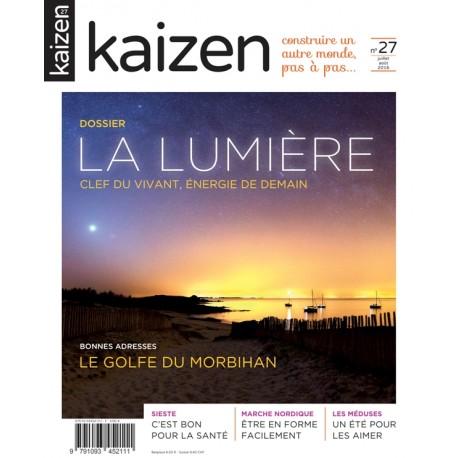 Kaizen 27 : La Lumière, clef du vivant, énergie de demain