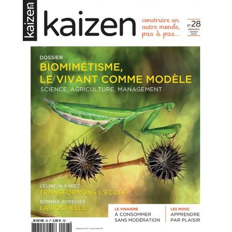 Kaizen 28 : Biomimétisme, le vivant comme modèle