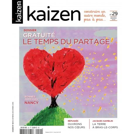 Kaizen 29 : Le Temps du partage