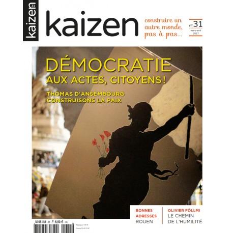 Kaizen 31 : Démocratie, aux actes citoyens