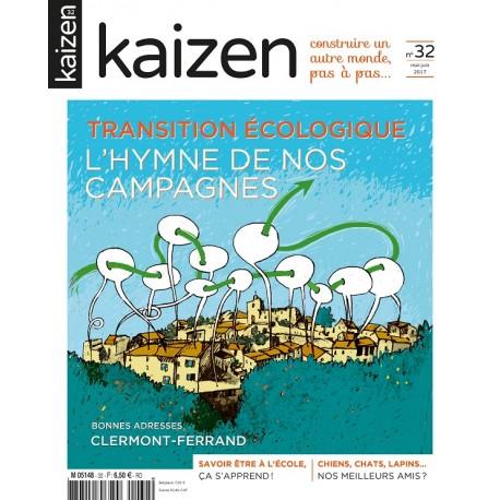 Kaizen 32 : Transition écologique, l'hymne de nos campagnes