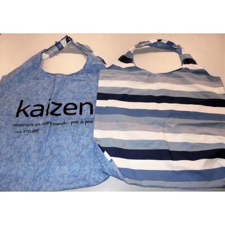 Sac cabas Kaizen 100% recyclé, fabrication L'Atelière