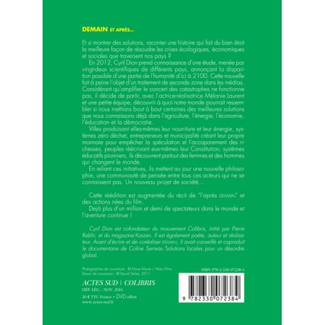 demain et apr s edition limit e livre dvd kaizen magazine librairie. Black Bedroom Furniture Sets. Home Design Ideas