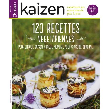 """Hors-série N°4 """"120 recettes végétariennes"""""""