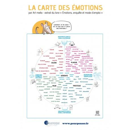 Carte des émotions