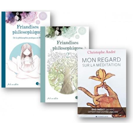 Lot : Friandises philosophiques - Tome 1 & 2 + DVD méditation offert !