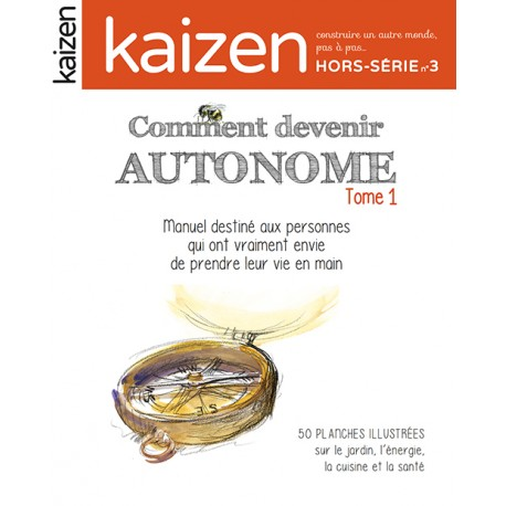 Lot « Comment devenir autonome » tomes 1&2 !